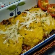 Zapiekanka z mięsem mielonym pod puree warzywnym