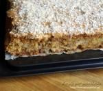 Ciasto jabłkowo-orzechowe z masą kajmakową