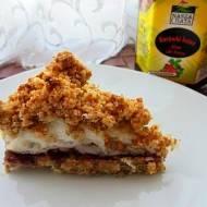 Kruszonkowiec - ciasto z pełnoziarnistą kruszonką i pianą z białek