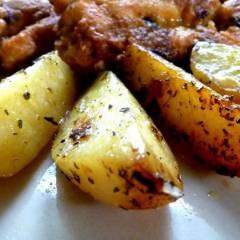 ziemniaki w rękawie