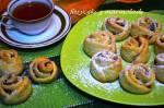 Ciasteczka różyczki z marmoladą -kruche różyczki