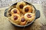 Marcepanowe ciasteczka z marmoladą