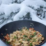 Walentynki i męskie gotowanie. Kurczak na modłę azjatycką