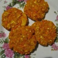 Ciasteczka jaglane z marchewką