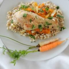 potrawka z kurczaka z marchewka