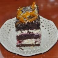 ciemne ciasto jak w-z