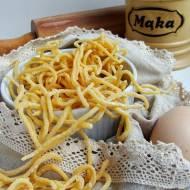 Domowy makaron jajeczny