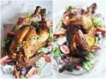 Kurczak z rożna z piekarnika