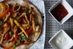 Meksykańska uczta, czyli fajitas z kurczaka i quesadilla z chili + test nowości do potraw meksykańskich firmy Delecta i Pryma