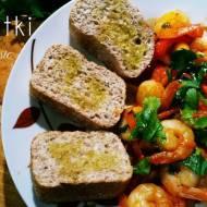 Krewetki w słodkim sosie z chilli i czosnkiem