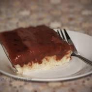 Szybki pudding z kaszy manny