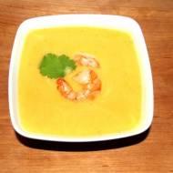 Zupa krem z patata, mleka kokosowego i imbiru