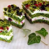 """Zielono mi czyli ciasto """"Leśny mech"""""""