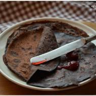Nalesniki czekoladowo-gryczane