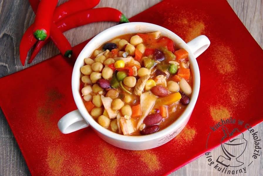 Przepis Na Meksykańska Zupa Z Cieciorką Kuchnia W