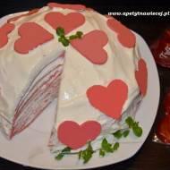 Tort naleśnikowy - II urodziny bloga