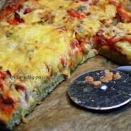 A'la pizza z ciecierzycą z mąki gryczanej -oszukana pizza