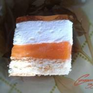 Kolorowe ciasto na soku kubuś