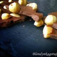 Tafla Mlecznej Czekolady z Orzechami - Na Bogato ;)