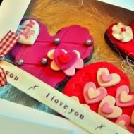 Walentynkowe pierniczki