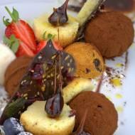 czekoladowy deser