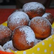 Pączki z nierafinowanym olejem palmowym