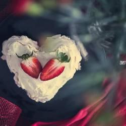 Słodka bezikowa Walentynka