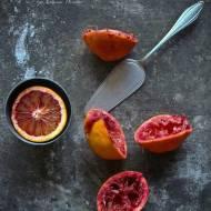 Jerozolima, Ottolenghi, Semolina cake - ciasto z czerwonych pomarańczy, nie tylko na niedzielę