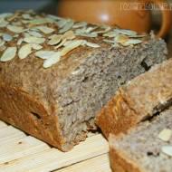 Wytrawny chlebek na bazie siemienia lnianego