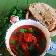 Zupa ziemniaczana z chorizo i czosnkiem