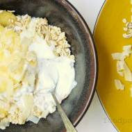 If you like Piña Colada… have one for breakfast… with oatmeal