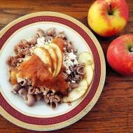 Makaron z twarogiem i prażonymi jabłkami- banalnie proste i obłędnie pyszne