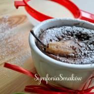 115. Słodko i romantycznie, czyli mini clafoutis czekoladowe z gruszkami