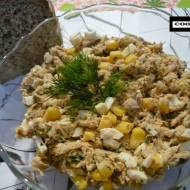 Pasta z makreli na ostro