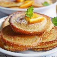 Racuszki z kaszy manny – na kefirze, z nutką pomarańczy
