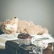 Muffinki mocno czekoladowe.
