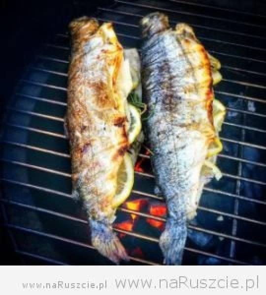 4 proste przepisy na pstrąga z grilla