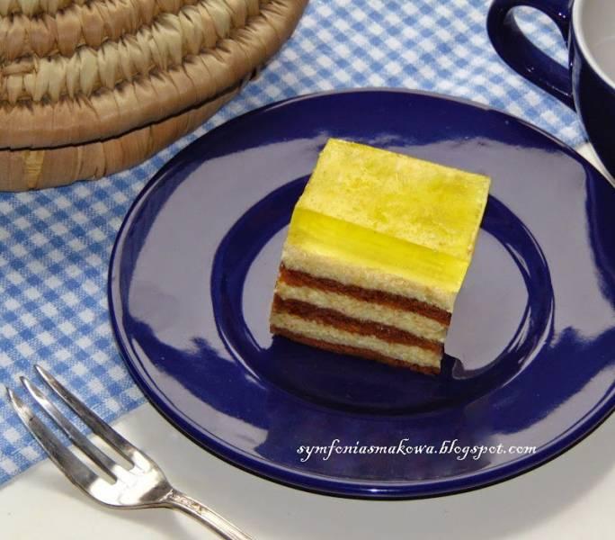 Ciasto pomarańczowo - kakaowe bez pieczenia.