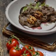 Tapenada, pasta z czarnych oliwek