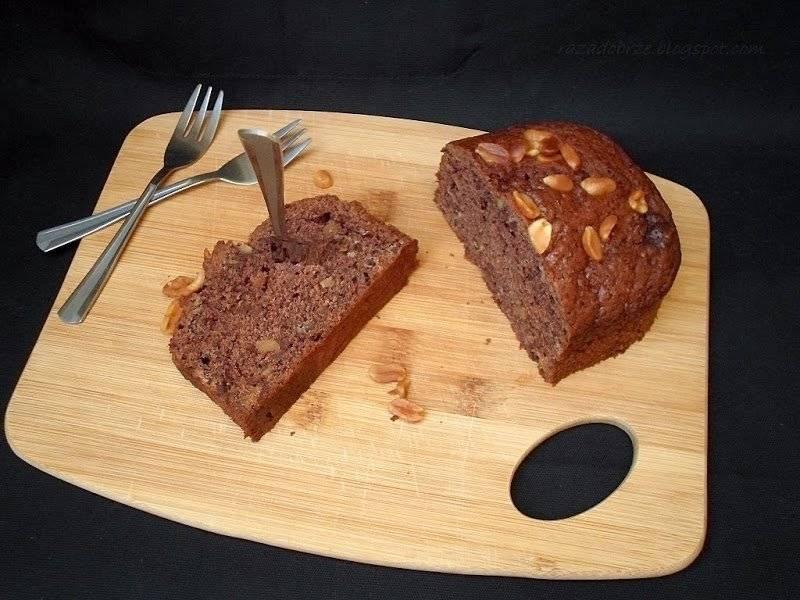 O marcowej pogodzie i czekoladowym chlebku bananowym słów kilka