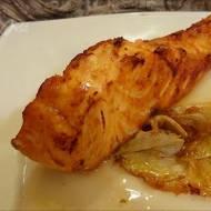 Kulinarne 50 twarzy Greya – danie główne – Stek z łososia