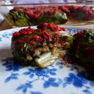 Gołąbki z sałaty rzymskiej