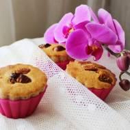 Waniliowe muffinki z suszonymi figami