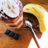 Nieziemsko pyszny deser bananowo-czekoladowy