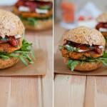 Burgery z soczewicy i marchewki