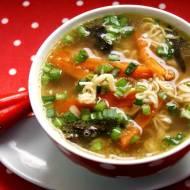 Rosół o smaczku orientalnym -na skróty