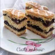 Ciasto makowe krucho - drożdżowe