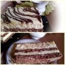 Ciasto Milki Way z biszkoptami