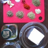 Ser biały w zalewie ziołowej