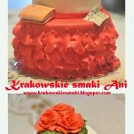 Tort orzechowo- kawowy